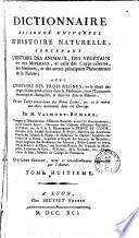 Dictionnaire raisonné universel d'histoire naturelle, 8
