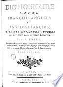 Dictionnaire royal fran—cais-anglois et anglois-fran—cois, 1