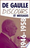 Discours et messages, tome 2 : 1946-1958