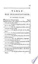 Dissertations de Maxime de Tyr, philosophe platinocien, tard. sur le texte grec, avec des notes critiques, historiques & philosophiques par J. J. Combes.- Dounous
