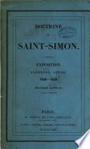 Doctrine de Saint-Simon. Exposition. Premiere annee 1829. 2e. ed