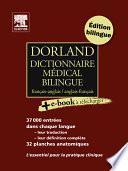 Dorland Dictionnaire médical bilingue