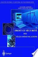 Droit et Sécurité des Télécommunications