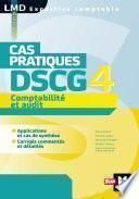 DSCG 4 Comptabilité et audit Cas pratiques