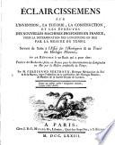 Éclaircissemens sur l'invention ... des nouvelles machines proposées en France, pour la détermination des longitudes en mer par la mesure du temps, servant de réponse à Précis des recherches faites en France pour la détermination des longitudes en mer par la mesure artificielle du temps [by P. Le Roy].