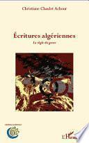 Ecritures algériennes