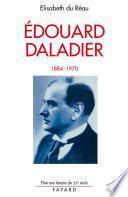 Edouard Daladier
