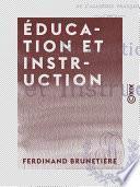 Éducation et Instruction