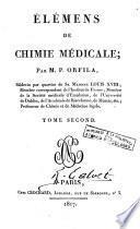 Élémens de chimie médicale, 2