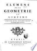 Élémens de la géométrie de l'infini