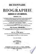 Encyclopédie théologique: Dictionnaire de biographie chrétienne