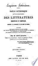 Esquisses littéraires