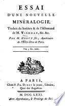 Essai d'une nouvelle minéralogie