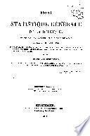 Essai sur la statistique générale de la Belgique