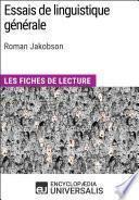 Essais de linguistique générale de Roman Jakobson