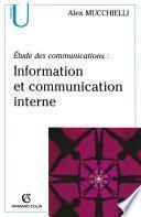 Étude des communications : information et communication interne