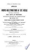 Études sur l'Exposition de 1867 ou les Archives de l'Industrie au XIXe siècle