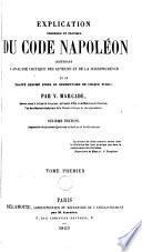 Explication théorique et pratique du code Napoléon