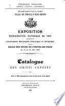 Exposition rétrospective historique de 1907