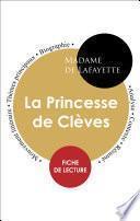 Fiche de lecture La Princesse de Clèves (Étude intégrale)