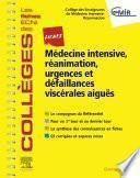 Fiches Médecine Intensive, réanimation, urgences et défaillances viscérales aiguës