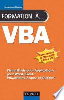 Formation à VBA - 2e éd.
