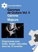 Gammes de Guitare Vol. 5