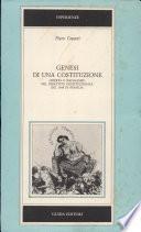 Genesi di una Costituzione