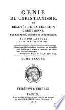 Génie du christianisme, ou beautés de la religion chrét