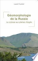 Géomorphologie de la Russie