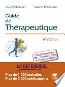 Guide de thérapeutique - version