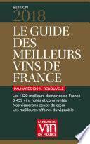 Guide des meilleurs vins de France 2018