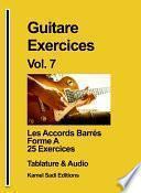 Guitare Exercices Vol. 7