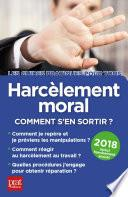 Harcèlement moral 2018