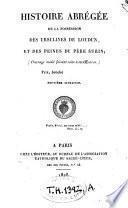 Histoire abrégée de la possession des Ursulines de Loudun et des peines du P. Surin