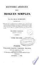 Histoire abrégée des drogues simples