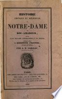 Histoire critique et religieuse de Notre-Dame de Roc-Amadour