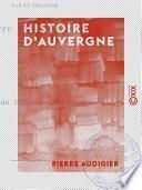 Histoire d'Auvergne