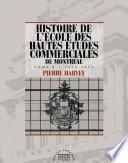 Histoire de l'école des Hautes études commerciales de Montréal