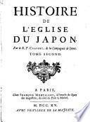 Histoire de l'Eglise du Japon