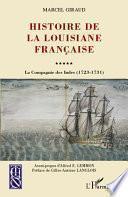 Histoire de la Louisiane française