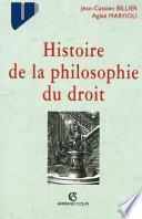 Histoire de la philosophie du droit