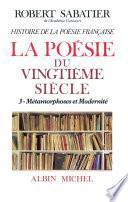 Histoire de la poésie française - Poésie du XXe siècle -