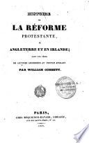 Histoire de la réforme protestante en Angleterre et Irlande
