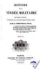 Histoire de la vendée militaire, 3