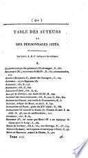 Histoire de la vie privée des François