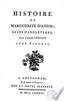 Histoire de Maguerite d'Anjou, reine d'Angleterre