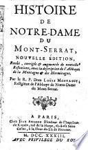 Histoire de Notre-Dame de Montserrat