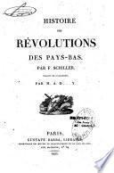 Histoire des révolutions des Pays-Bas