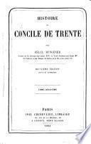 Histoire du Concile de Trente